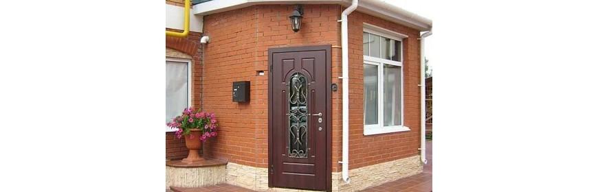 Дверь с терморазрывом (уличная теплая дверь)