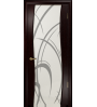 Дверь Милена-4 белый триплекс рисунок
