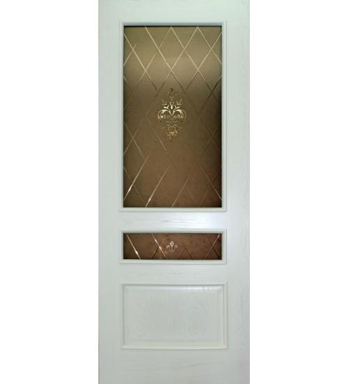 Дверь ДА2-4 витраж Альфа