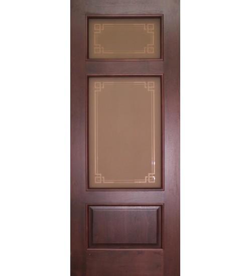 Дверь ДА9-3 витраж Альфа