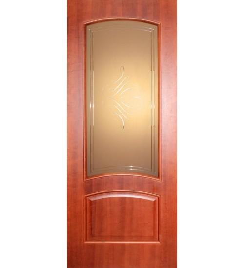 Дверь ДБ1-2 витраж Альфа