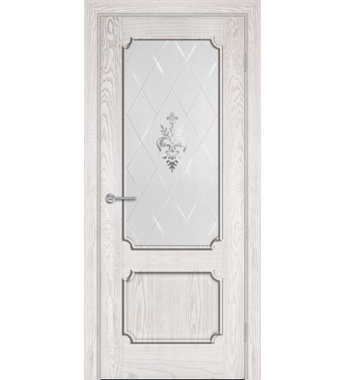 Дверь ZA1-2 витраж Альфа