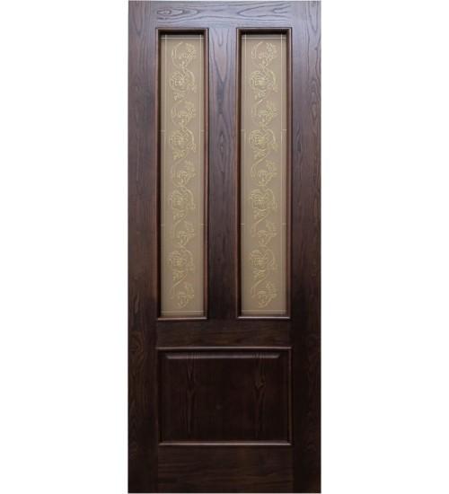 Дверь ДА3-2 витраж Альфа