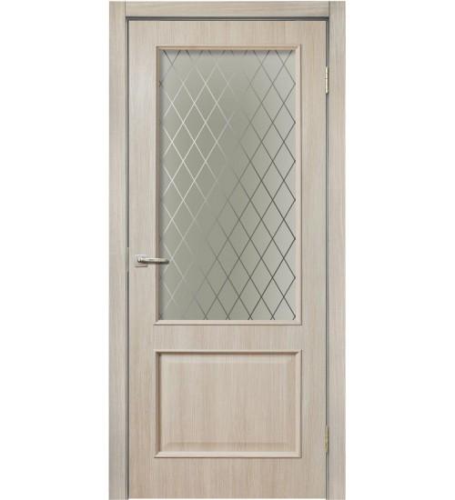 Дверь Классика 320 стекло Ромб Дера