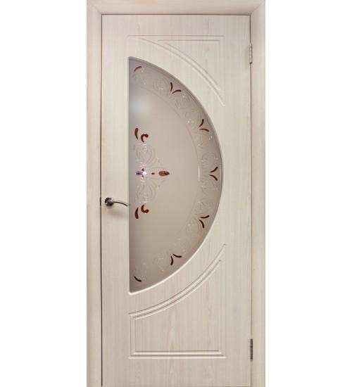 Дверь Сфера ПВХ ДО со стеклом