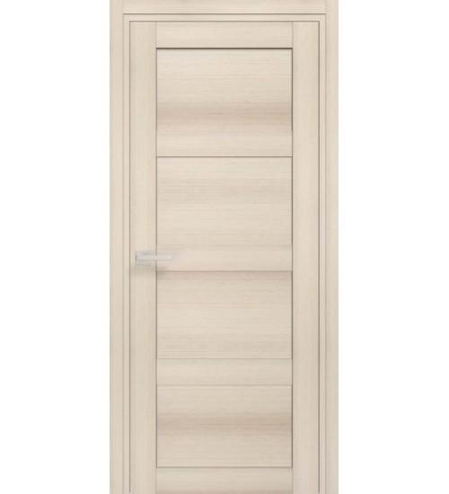 Пластиковая дверь QUATRO ПГ AquaDoor ПВХ БФК