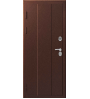 Стальная дверь Эталон Х-100 антик медь