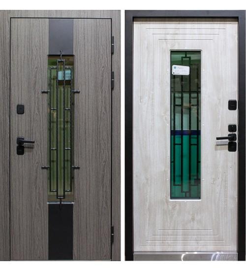 Стальная уличная дверь Лондон термо 11см