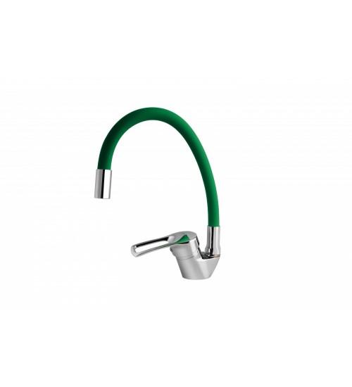 Смеситель для кухни TURDUS 17 K Green