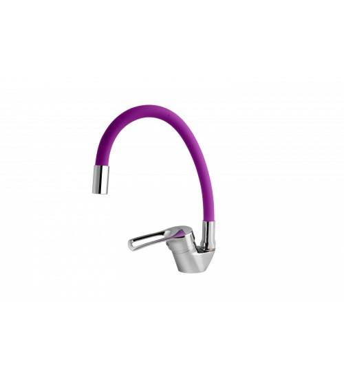 Смеситель для кухни TURDUS 17 K Purple