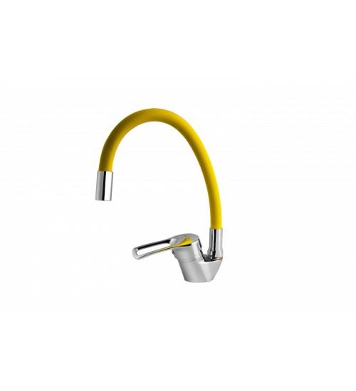 Смеситель для кухни TURDUS 17 K Yellow