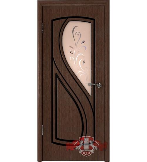 Дверь 10ДО4 шпонированная ВФД
