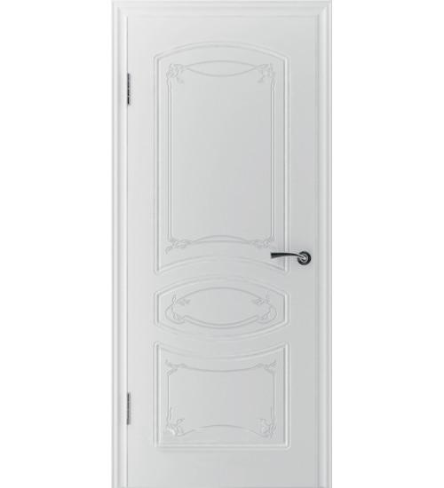 Дверь 13ДГ0 Версаль белая эмаль ВФД