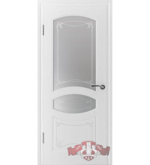 Дверь 13ДР0 Версаль белая эмаль ВФД