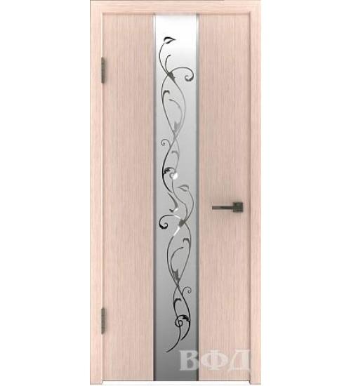 Дверь 16ДО5 зеркало 2 шпонированная ВФД