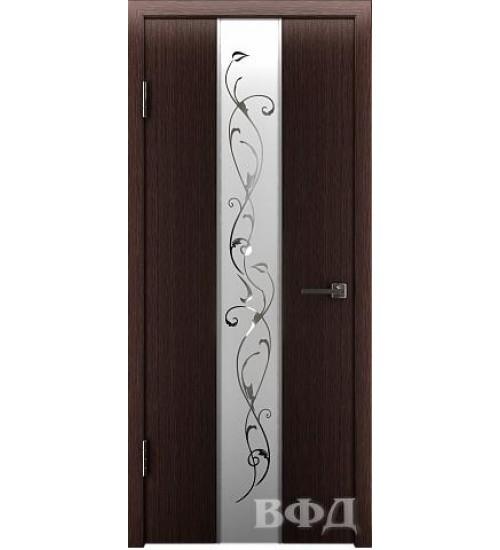Дверь 16ДО7 зеркало 2 шпонированная ВФД