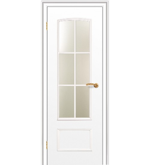 Белая дверь 208 ДО Краснодеревщик