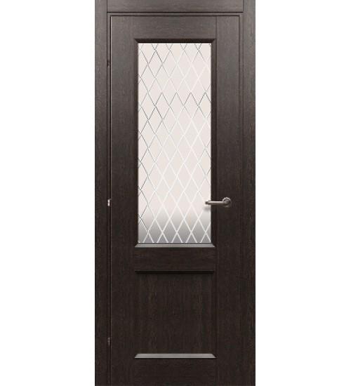 Дверь 33.24 ДО черный дуб Краснодеревщик