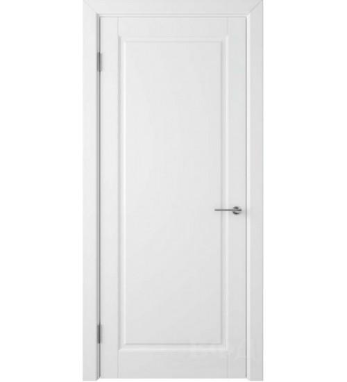 Дверь Гланта 57ДГ белая эмаль