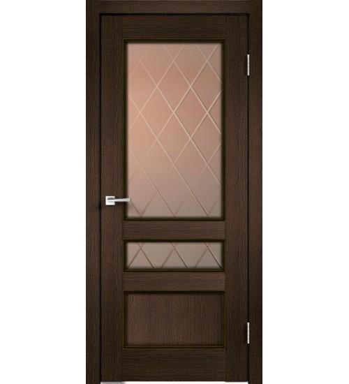Дверь Classico 3V стекло Ромб VellDoris