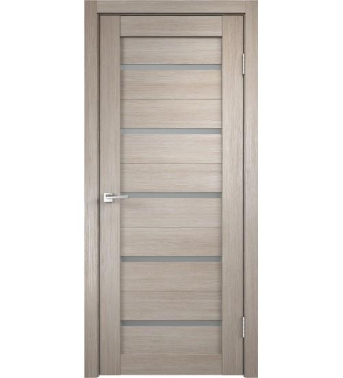 Дверь экошпон Duplex стекло мателюкс