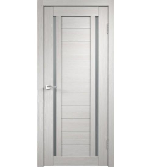 Дверь экошпон Duplex-2 стекло мателюкс VellDoris