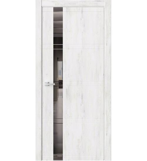 Дверь EVO1 зеркало графит клен прованс