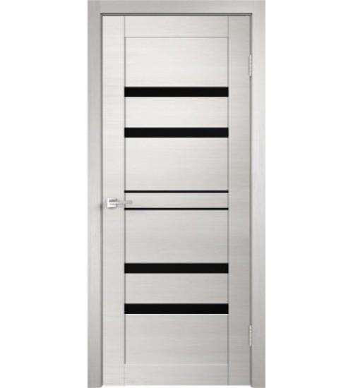 Дверь Linea 6 черный лакобель VellDoris