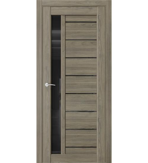 Дверь QUEST Qx1 черный лакобель дуб тортора