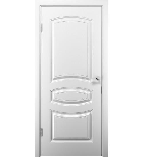 Дверь Аделия ДГ белая эмаль