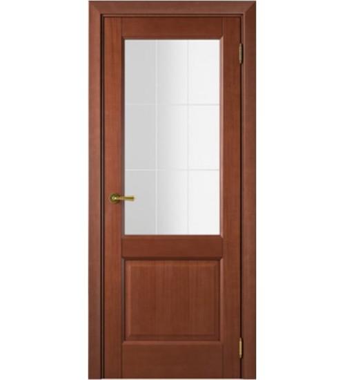 Дверь Белла стекло Решетка Альвион