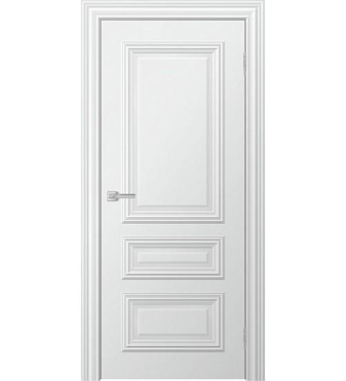 Дверь Ella ДГ белая эмаль фотопечать