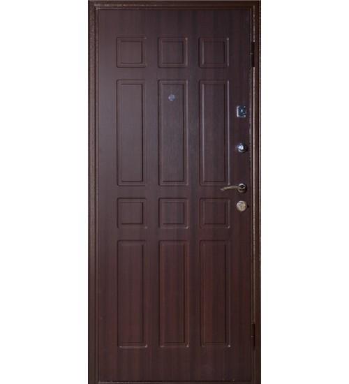 Стальная дверь Аргус Фактор 4 медь/венге