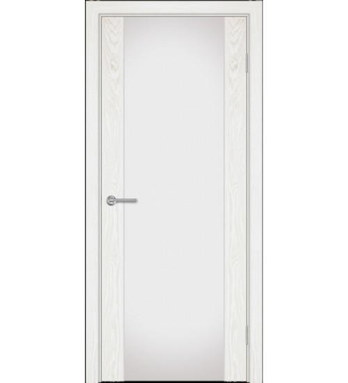 Дверь Альфа Г1-2 белый триплекс