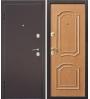 двери входные металлические светлый орех