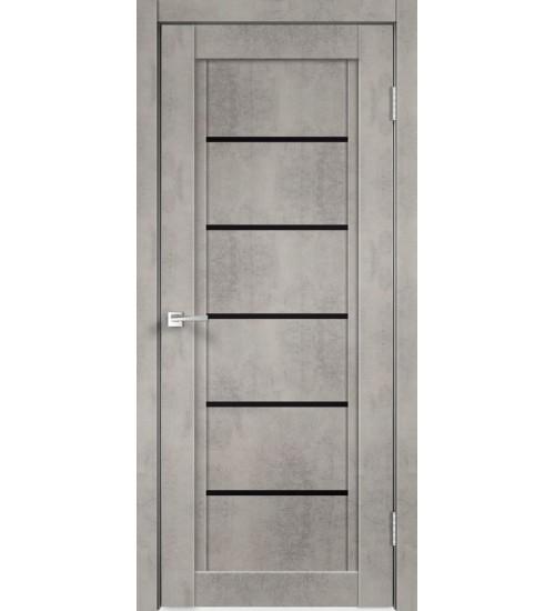 Дверь NEXT-1 черный лакобель Velldoris