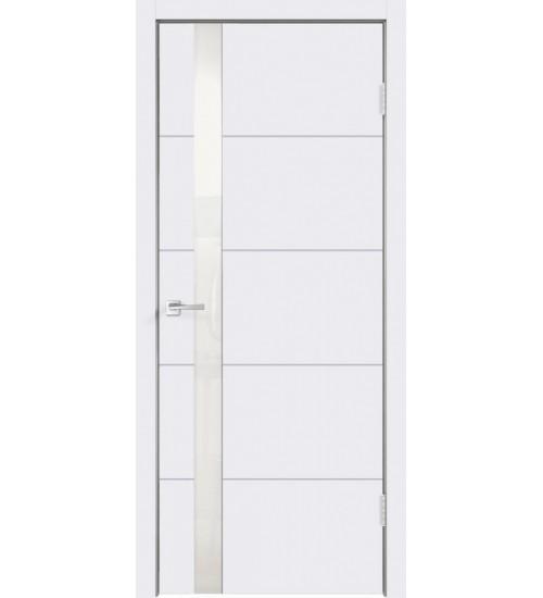 Дверь SCANDI F Z1 белый лакобель белая эмаль