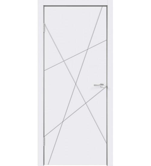 Дверь SCANDI S белая эмаль RAL 9003