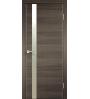 Дверь TECHNO Z1 с замком зеркало матовое Velldoris