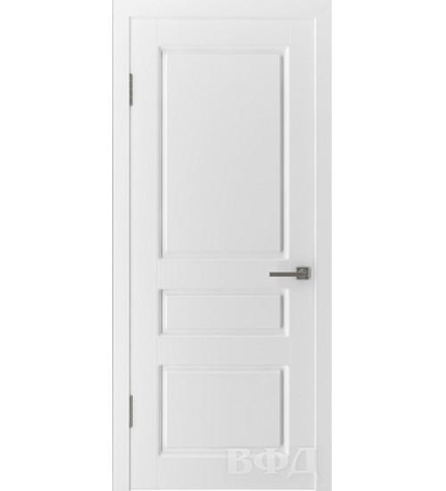 Дверь 15ДГ0 Честер белая эмаль ВФД