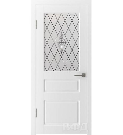 Дверь 15ДО0 Честер шпонированная ВФД