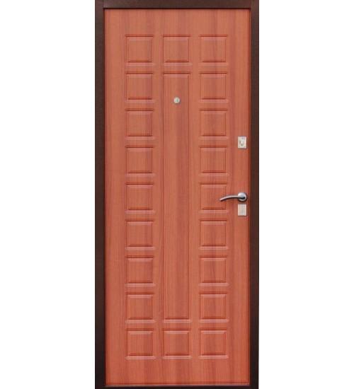 Металлическая дверь Зевс S-2 медь итальянский орех