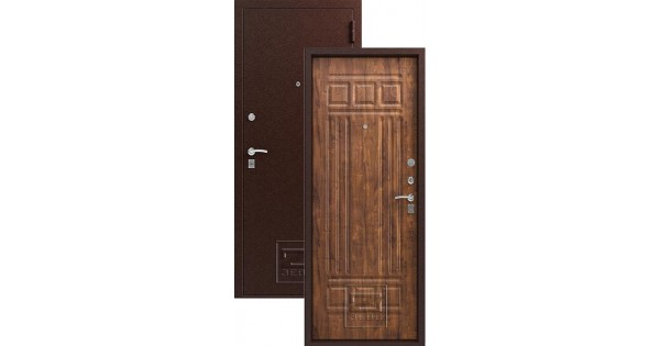металлическая дверь цвет дуб антик