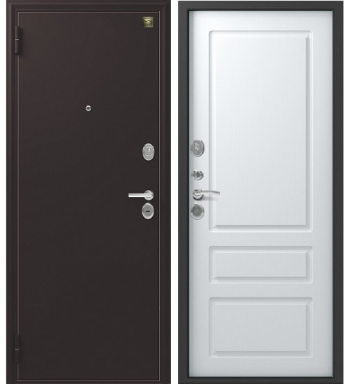 Зевс Z-6 шелк бордо/белый софт