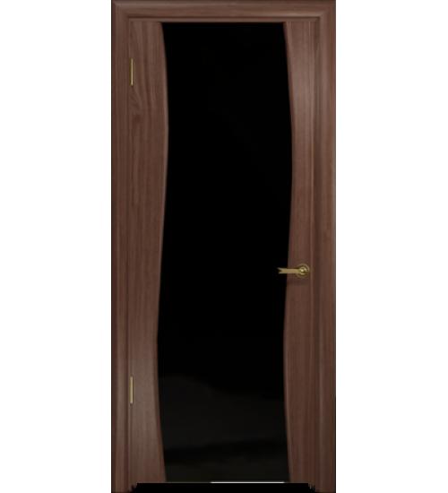Дверь Милена-4 черный триплекс