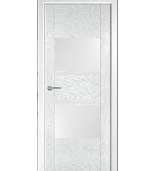 Дверь Бари белый ясень акрил