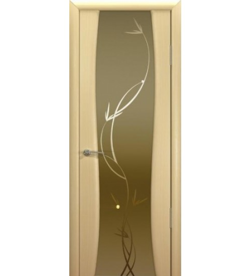 Дверь Милена-5 триплекс с рисунком