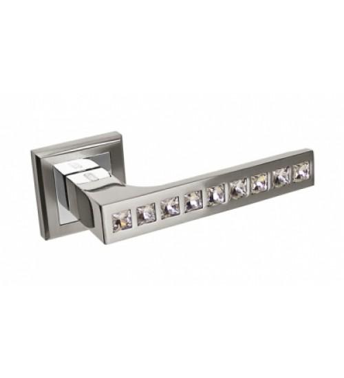 Ручка дверная 301HH Cr Palidore белый никель