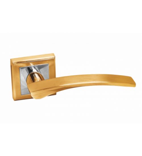 Ручка Palidore A-232 SB/PB матовое золото/золото