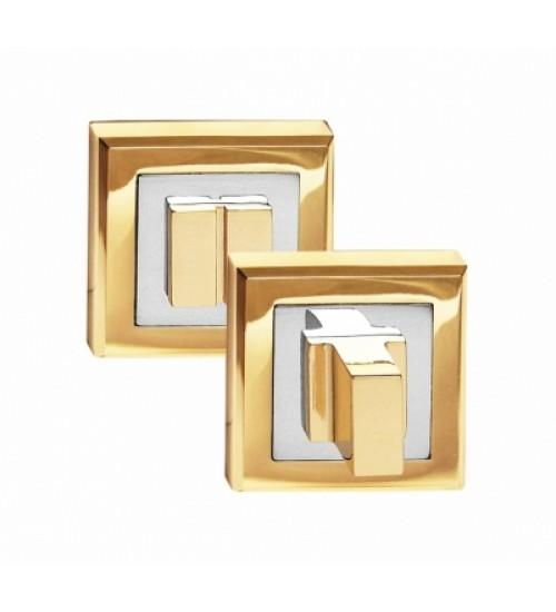 Завертка на квадратной накладке Palidore OLS PB золото